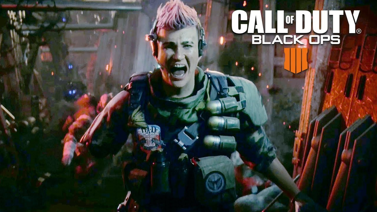 Call of Duty Black Ops 4 - Battery's Training Story Full Walkthrough 60FPS