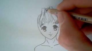 4 Female manga hairstyles