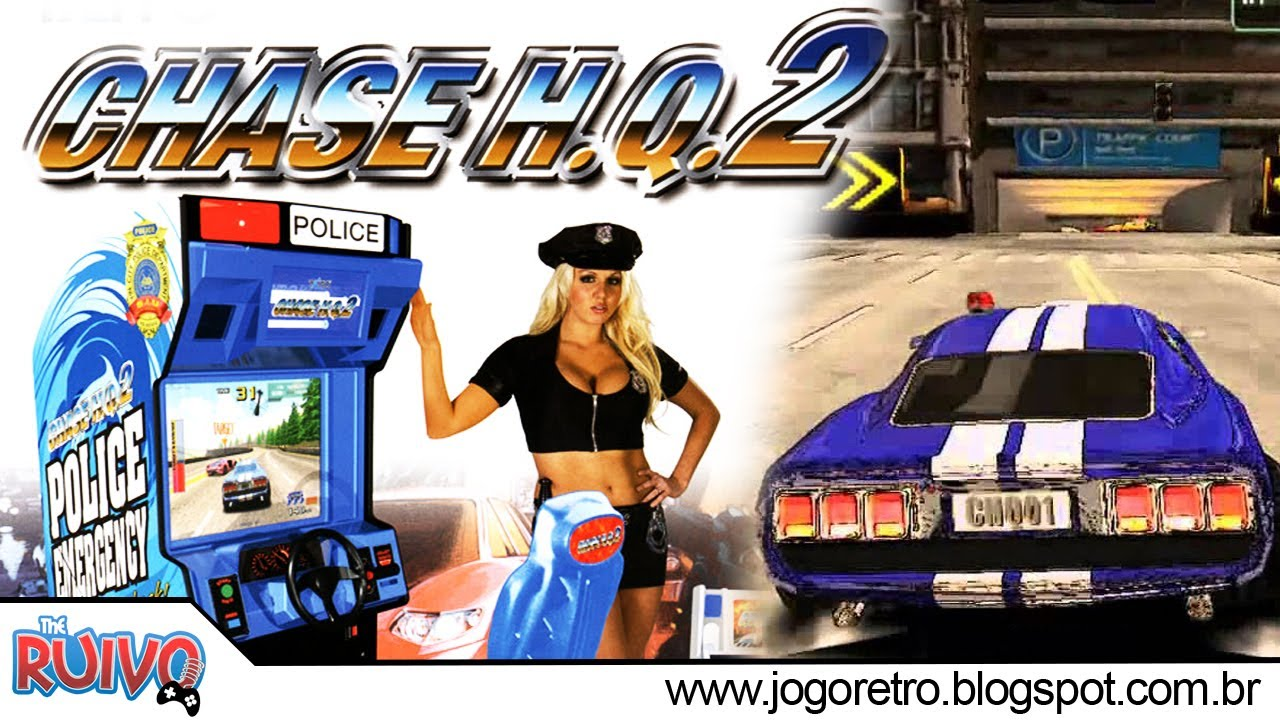 Chase H Q  2 Arcade Dump (Taito Type X2) PC GAMEPLAY