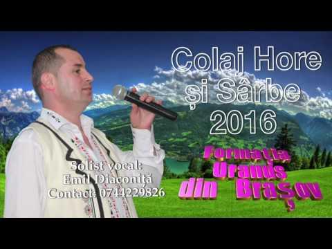 Colaj Hore Si Sarbe Cu Formatia Uranus Din Brasov 2016 Youtube