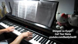 Repeat youtube video Shingeki no Kyojin OST - Call Your Name Piano Transcription