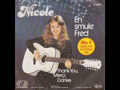 Eurovision 1982 - Germany - Nicole - En Smule Fred (Danish)