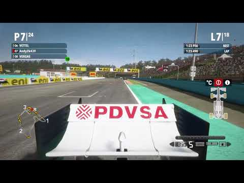 F1 2012 - Online Coop with ICEMAN - Race 11 Hungary
