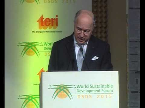Inaugural Address: HE Mr Laurent Fabius - DSDS 2015