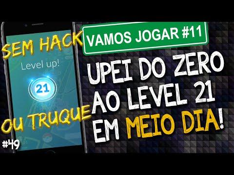 Upei do level 0 ao 21 em meio dia! SEM TRUQUES ou HACKS! 524 mil XP em 22 horas!  Pokemon Go Brasil