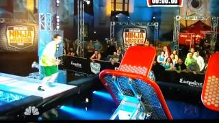 Autistic kid competes on American Ninja Warrior