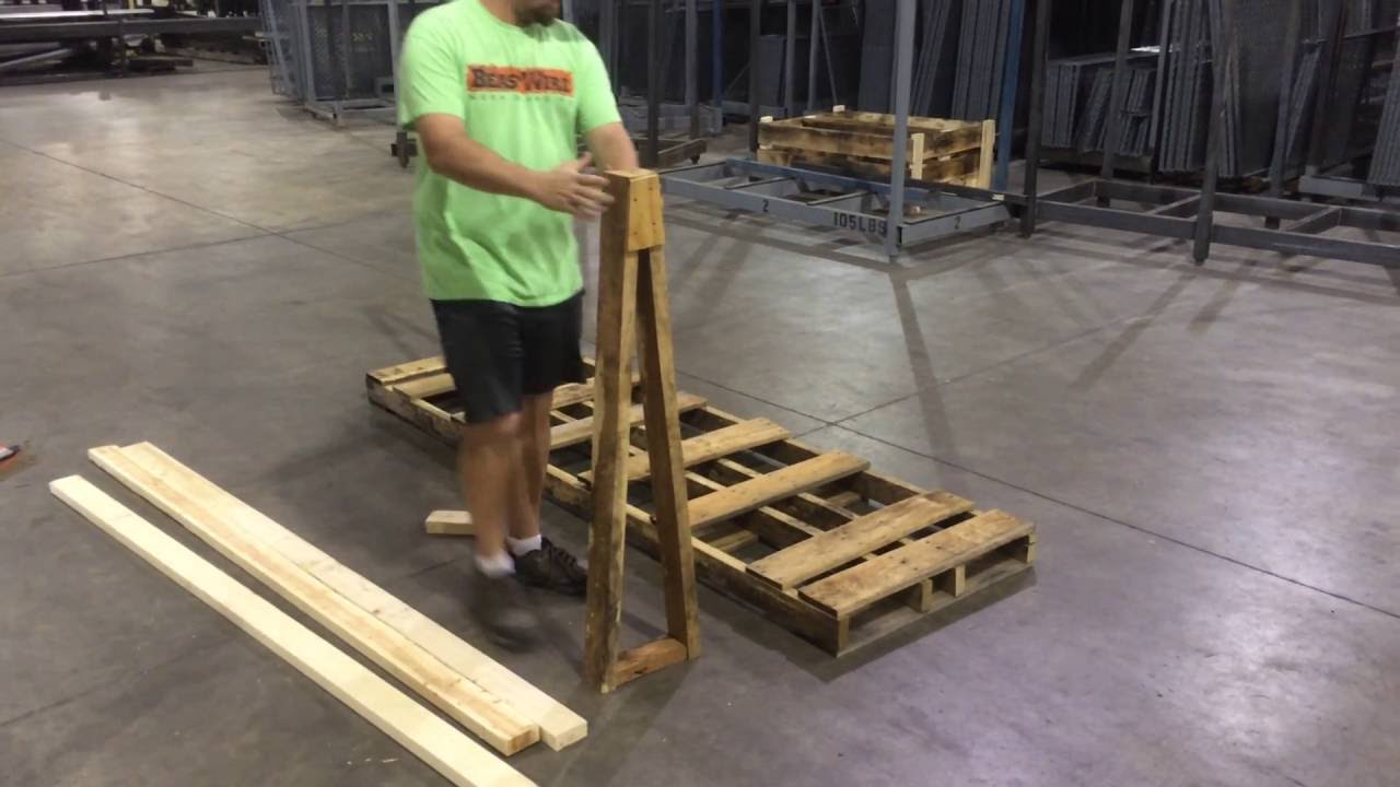 Building An A Frame Pallet You