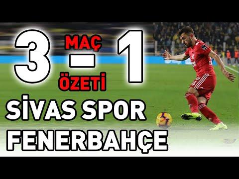 Sivasspor Fenerbahçe Maç Özeti ( 3-1 )