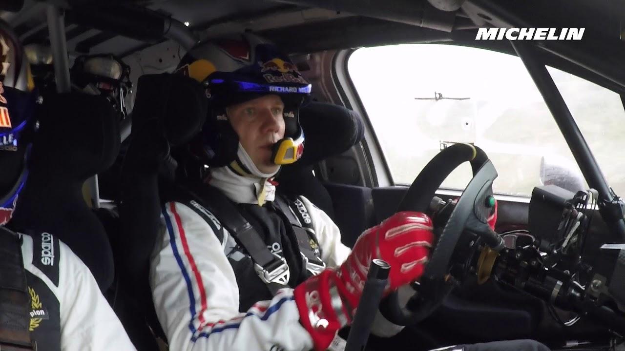 Sebastien Ogier Testing - 2019 WRC Rallye Monte-Carlo - Michelin Motorsport