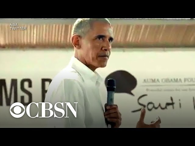 Barack Obama helping launch NBA-backed basketball league in Africa