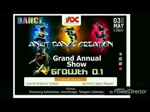 #Ankit Dance Creation#🤩✨GRAND ANNUAL SHOW 🤩#GROWTH 0.1# 2k19 🤗✨