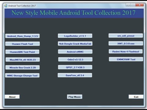 ANDROID TOOLS COLLECTION 2017 LATEST FREE