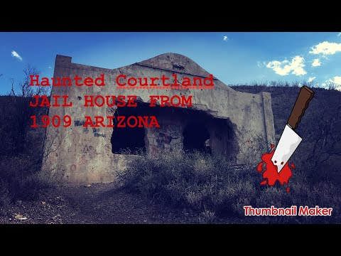 Haunted 1890s Jail House and Prospecting For Azurite