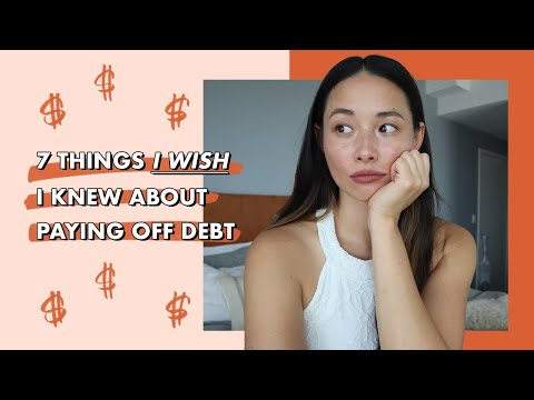 7 Things I Wish I Knew About Paying Off Debt | Aja Dang
