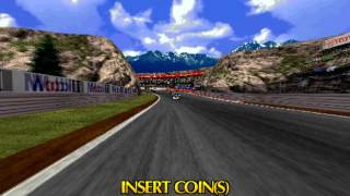 (Demo) Sega Touring Car Championship (C)SEGA 1996