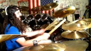 Glen Monturi - Teenage Rock God (Rob Zombie Drum Cover)