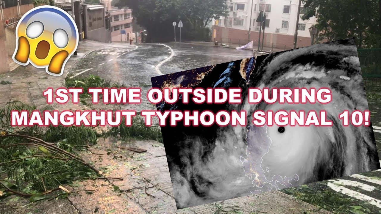 Super Typhoon Mangkhut Hits Hong Kong 超強颱風 山竹 FESANITY VLOG! - YouTube