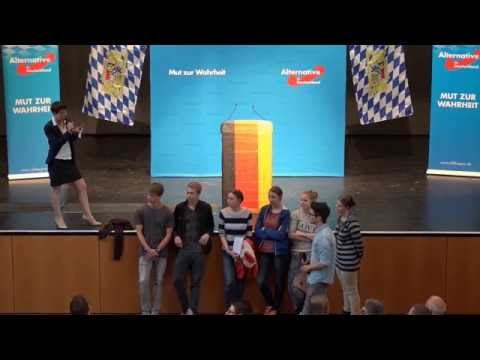 AfD's Frauke Petry vs. School Kids (English subs)