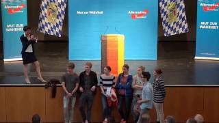AfD's Frauke Petry vs. School Kids (English subs)