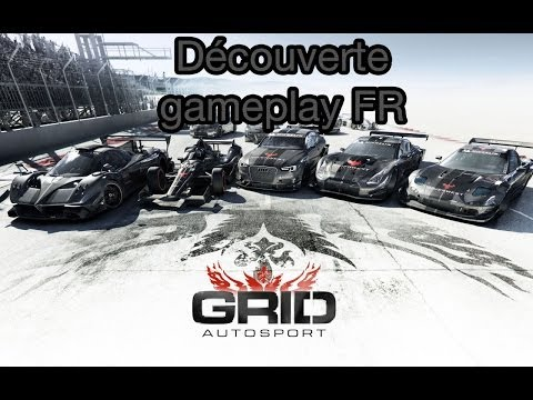 Grid Autosport gameplay FR premier tour de roue sur ce sublime jeu