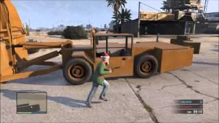 ᐈ GTA 5 Online Modded Cars: Tow Truck , Space Docker