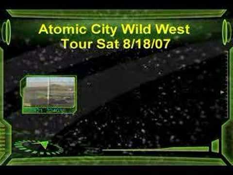 Atomic Motor Raceway ( heat race wreck)
