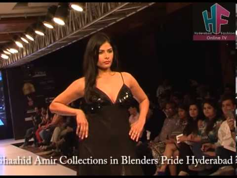Fashion Designer Shaahid Amir Collections in Blenders Pride