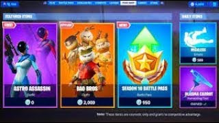 Live Item Shop New Fox Skin Coming Soon (FORTNITE BATTLE ROYALE)