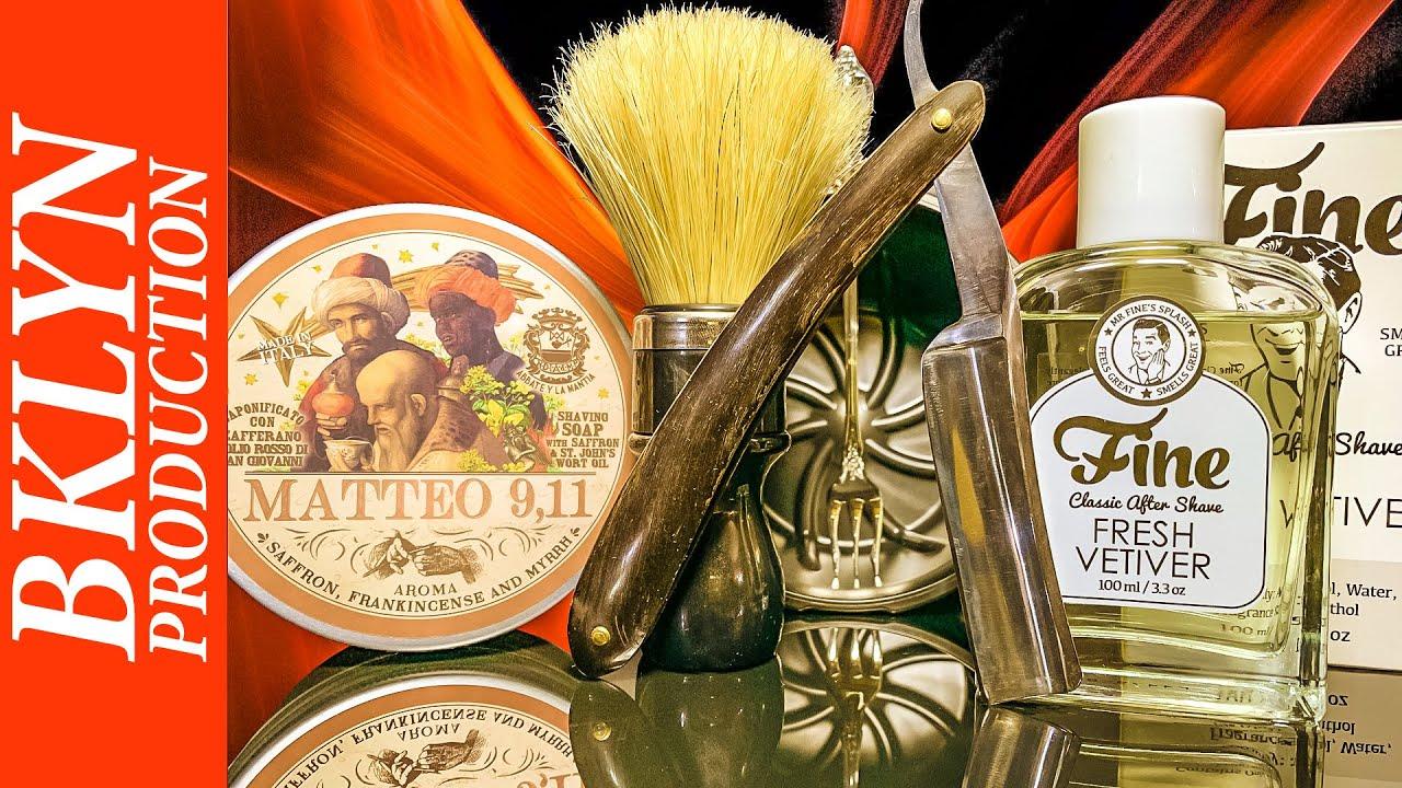 💈 Провальное бритье с опасной бритвой Wade Butcher, Abbate Y La Mantia Matteo 9,11 Soap, Omega, Fine