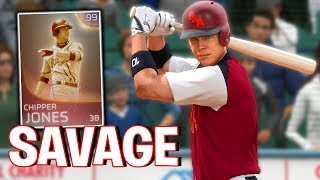 IMMORTAL CHIPPER JONES IS A SAVAGE! MLB The Show 18 | Battle Royale