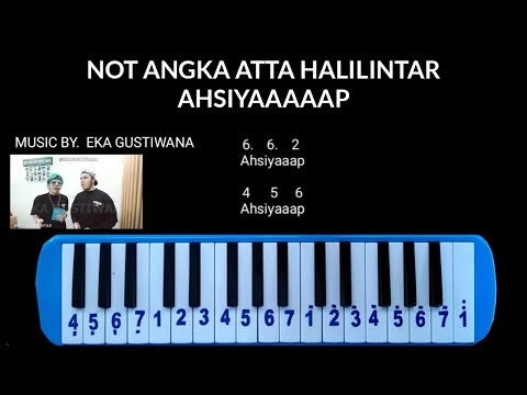 Not Pianika Atta Halilintar - AHSIYAAAP (music By. Eka Gustiwana)