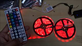 Relohas Waterproof Led Strip Light 10m - Unboxing And Setup