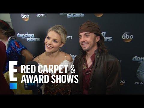 Frankie Muniz & Witney Carson Spill on Standing Ovation | E! Live from the Red Carpet