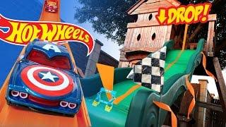 Hot Wheels Long Jump Challenge ft Marvel Superheroes Hot Wheels Cars
