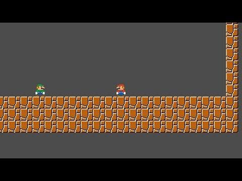 Basic online multiplayer Mario clone using high level