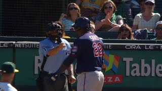 MIN@OAK: Sano strikes out, gets ejected for arguing