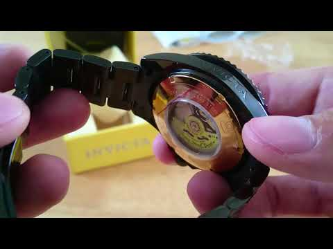 Invicta Grand Diver PVD 21869 unboxing