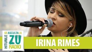 Irina Rimes - Iubirea noastra muta (Trilogia partea I) (Live la Radio ZU)