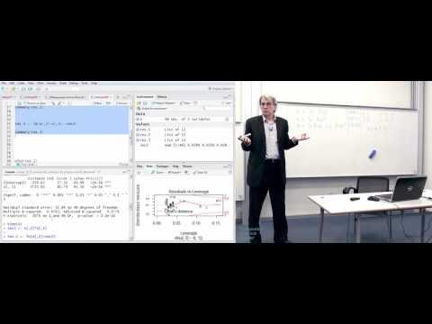 Лекция 7. Линейный регрессионный анализ. Прогнозирование коротких временных рядов