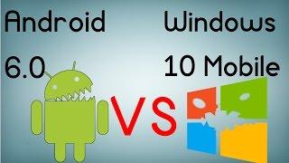 Android 6.0 vs Windows 10 Mobile - La comparativa definitiva (Español)