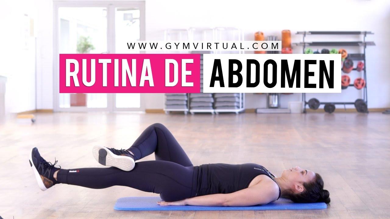ejercicios para trabajar parte baja del abdomen