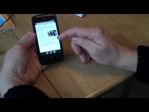 HTC 7 Mozart Overview