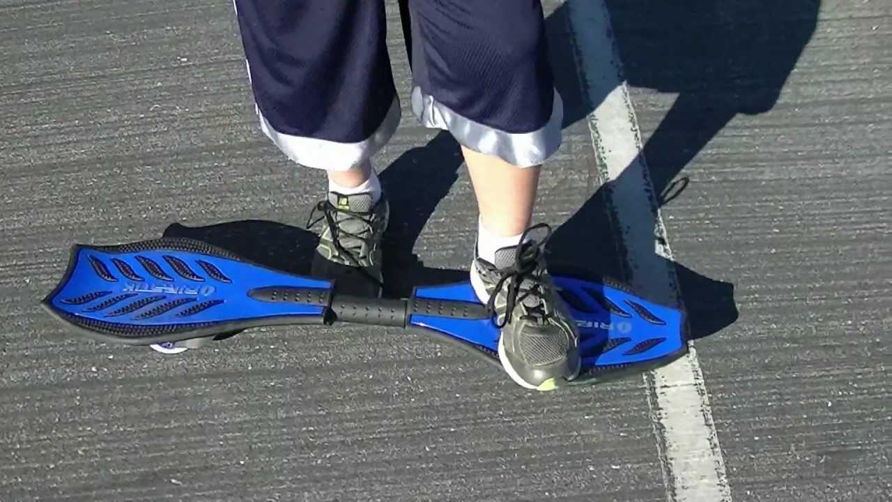 How To Ride A Razor Ripstick Caster Board Skateboard Youtube