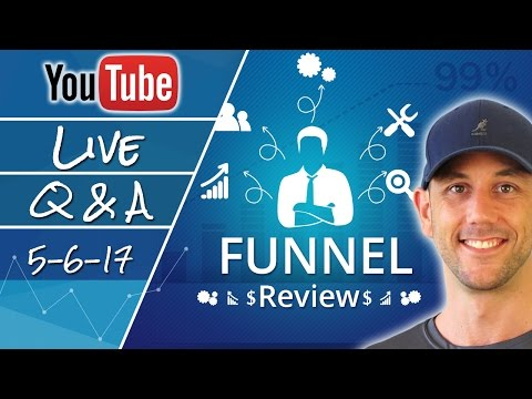 Entrepreneurship & Internet Marketing Question & Answer!  Plus Live Funnel Reviews...