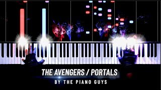 How to Play AVENGERS like Captain America - The Piano Guys ft. ROUSSEAU видео