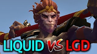 Liquid VS LGD - The International 2017 Group Stage Day 2