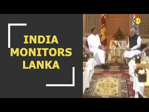 India closely monitors Sri Lankan political crisis