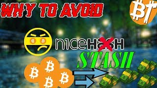 WHY TO AVOID NICEHASH|#Tips&Tricks