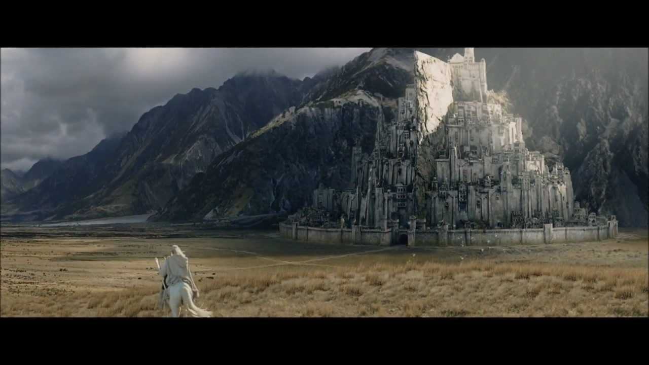 Lotr The Return Of The King Minas Tirith Youtube