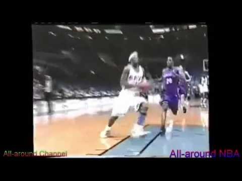 Ricky Davis High Flying 22pts vs Raptors 2002-03